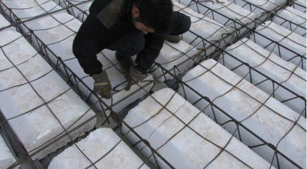 معایب سقف تیرچه بلوک